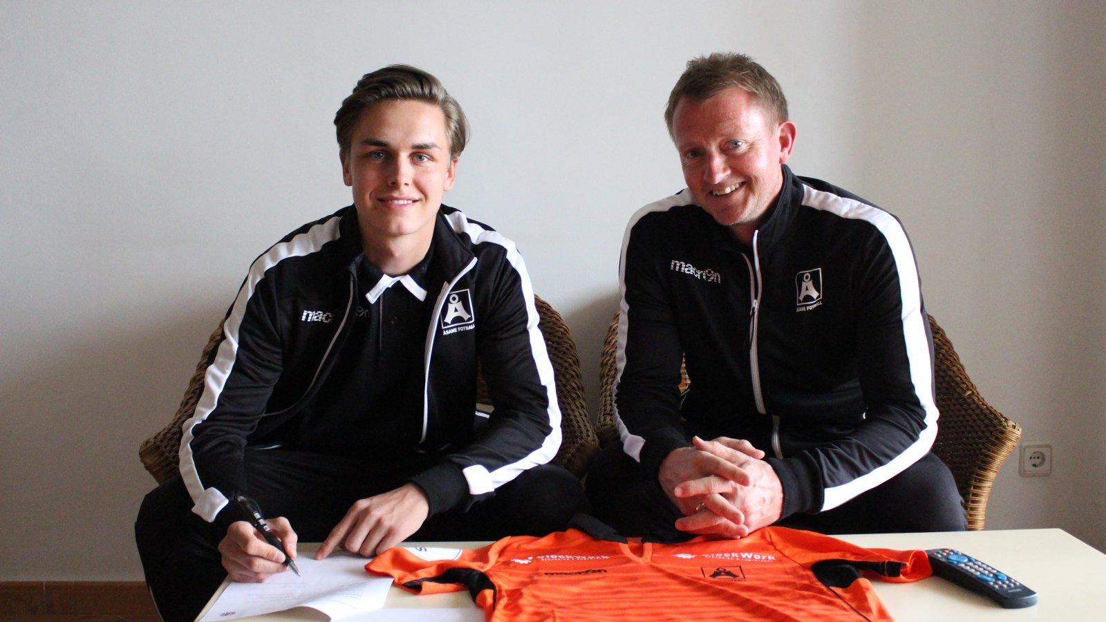 Olve Opsvik signerer for Åsane