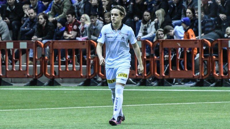 Olve Opsvik mot Brann i Vestlandshallen.